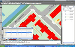 AutoCAD Map connects to dg DIALOG Topografie basemap data in Oracle Spatial
